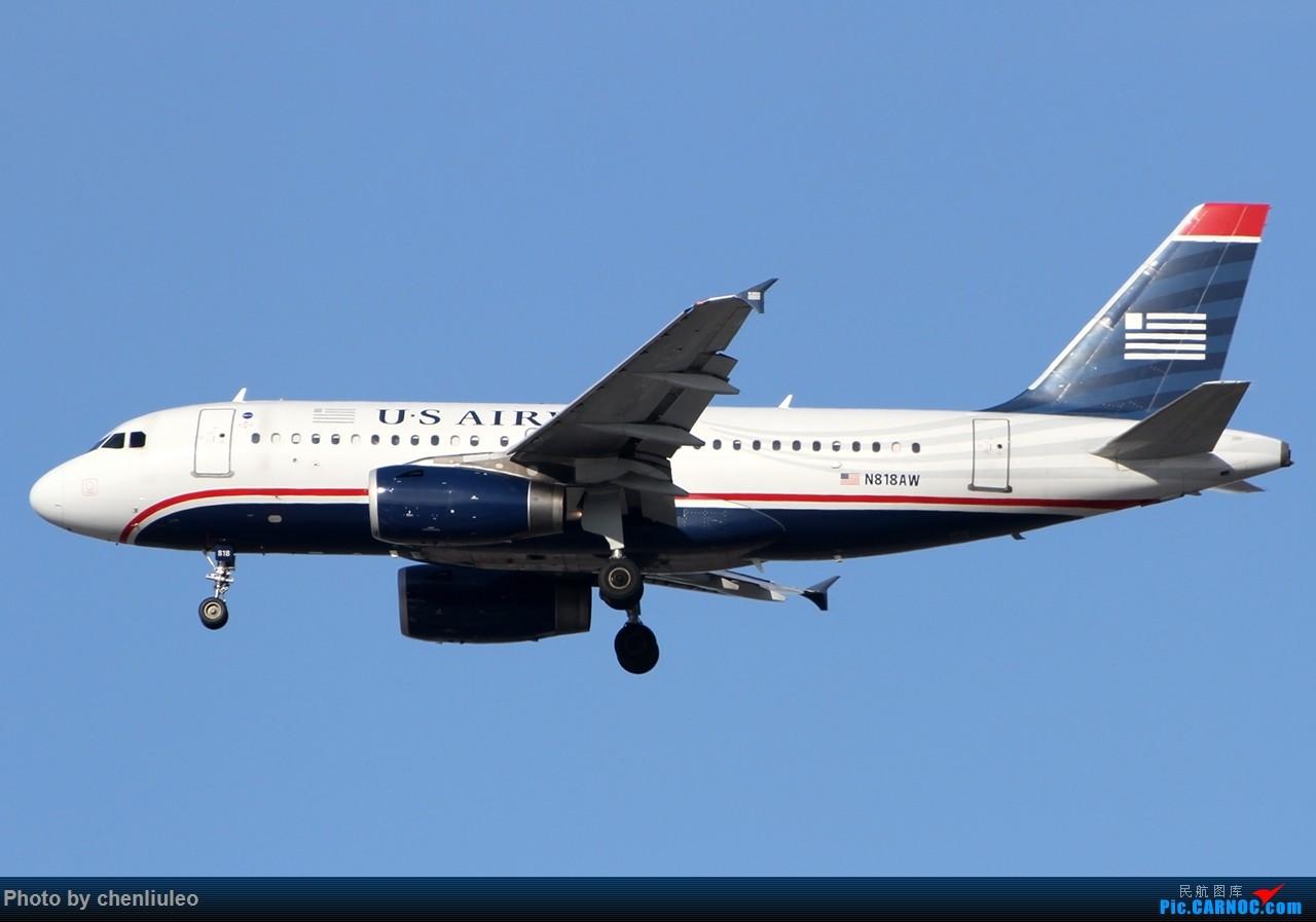 Re:【杭州飞友会】KSTL拍机。波音自家的737BBJ。边疆A319。以及其他。 AIRBUS A319-132 N818AW 美国圣路易斯机场