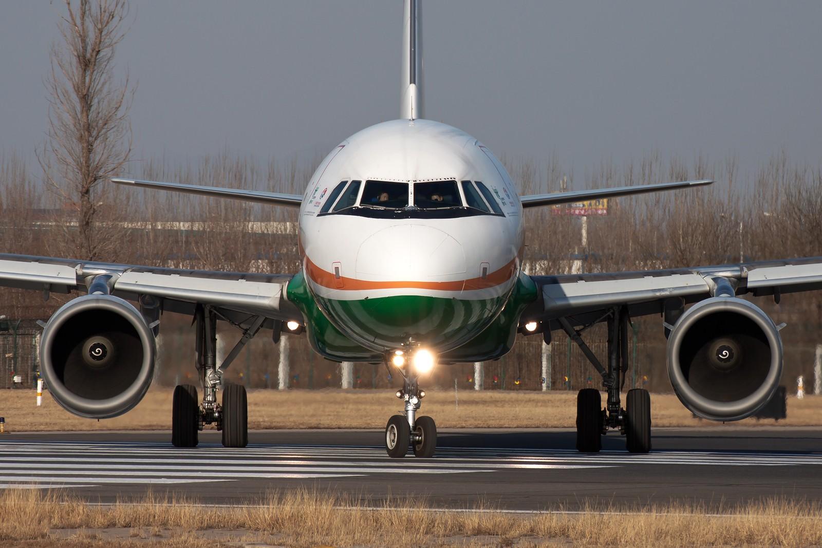 """[原创][一图党]伪""""长荣航空A321"""" AIRBUS A321-200 B-2290 中国北京首都国际机场"""