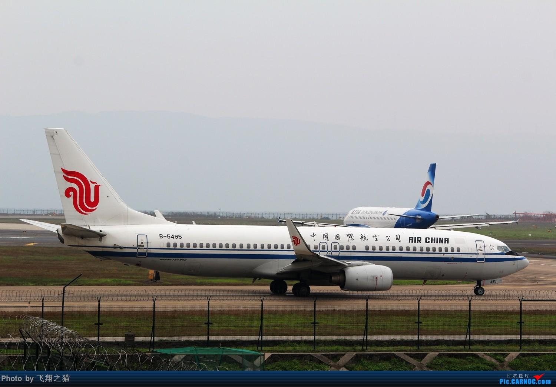 Re:[原创]2015CKG春运最后的疯狂 BOEING 737-800 B-5495 重庆江北国际机场