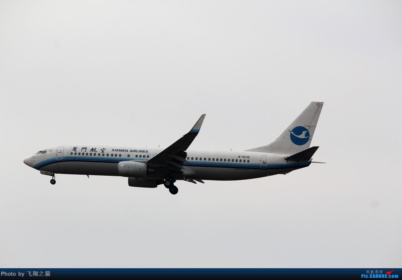Re:[原创]2015CKG春运最后的疯狂 BOEING 737-800 B-5535 重庆江北国际机场