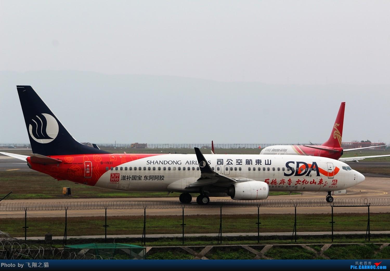 Re:[原创]2015CKG春运最后的疯狂 BOEING 737-800 B-1931 重庆江北国际机场