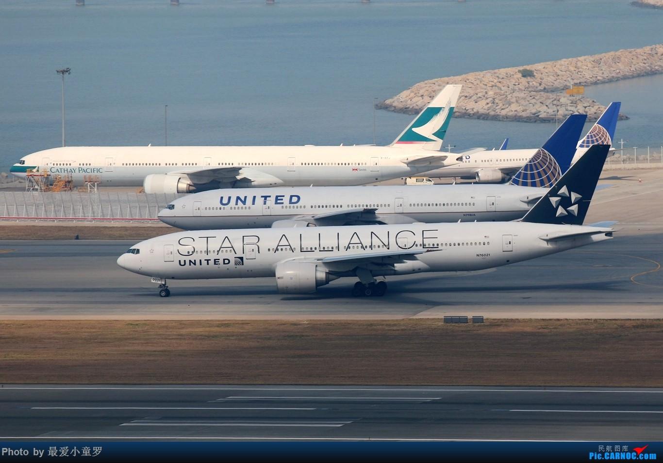 Re:[原创]2015年1月25日香港沙螺湾烂天拍机第二集——波音777 BOEING 777-200ER N76021