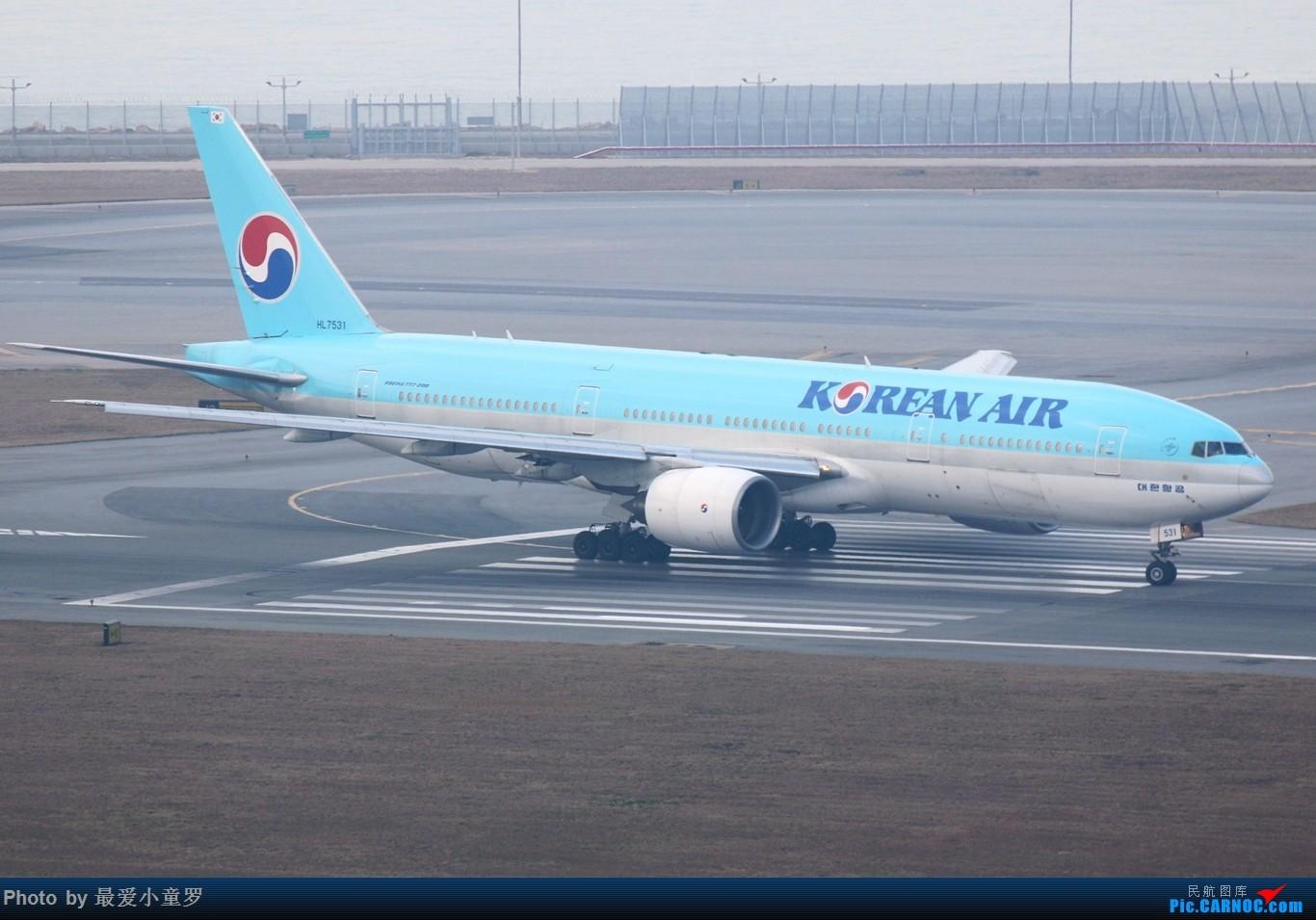 Re:[原创]2015年1月25日香港沙螺湾烂天拍机第二集——波音777 BOEING 777-200ER HL7531