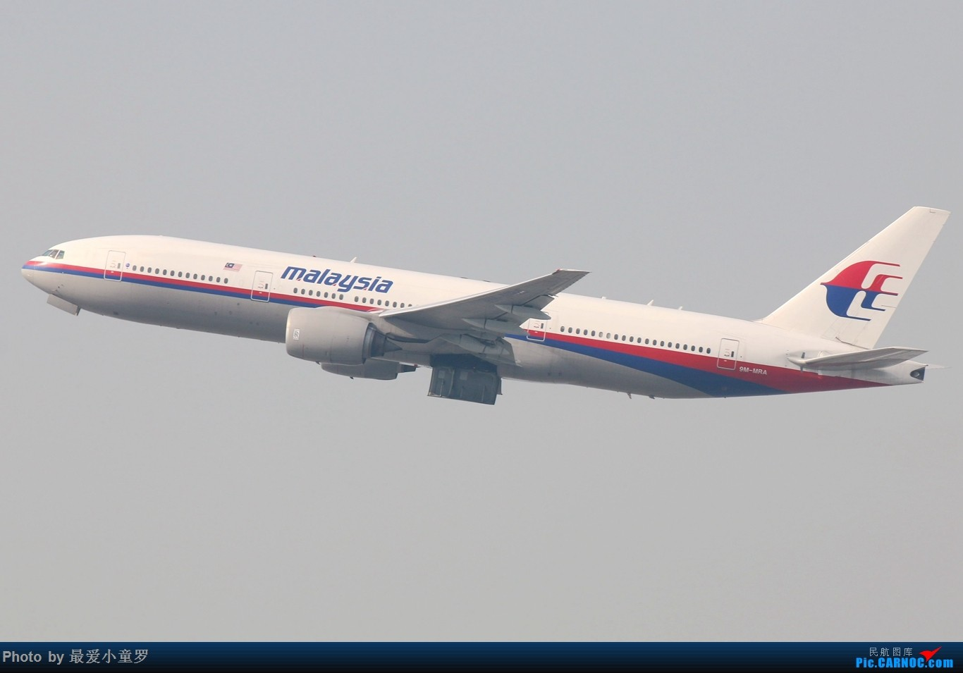 Re:[原创]2015年1月25日香港沙螺湾烂天拍机第二集——波音777 BOEING 777-200ER 9M-MRA