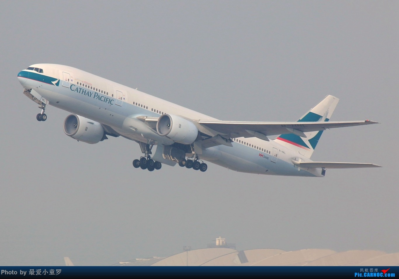 Re:[原创]2015年1月25日香港沙螺湾烂天拍机第二集——波音777 BOEING 777-200 B-HNL 中国香港赤鱲角国际机场