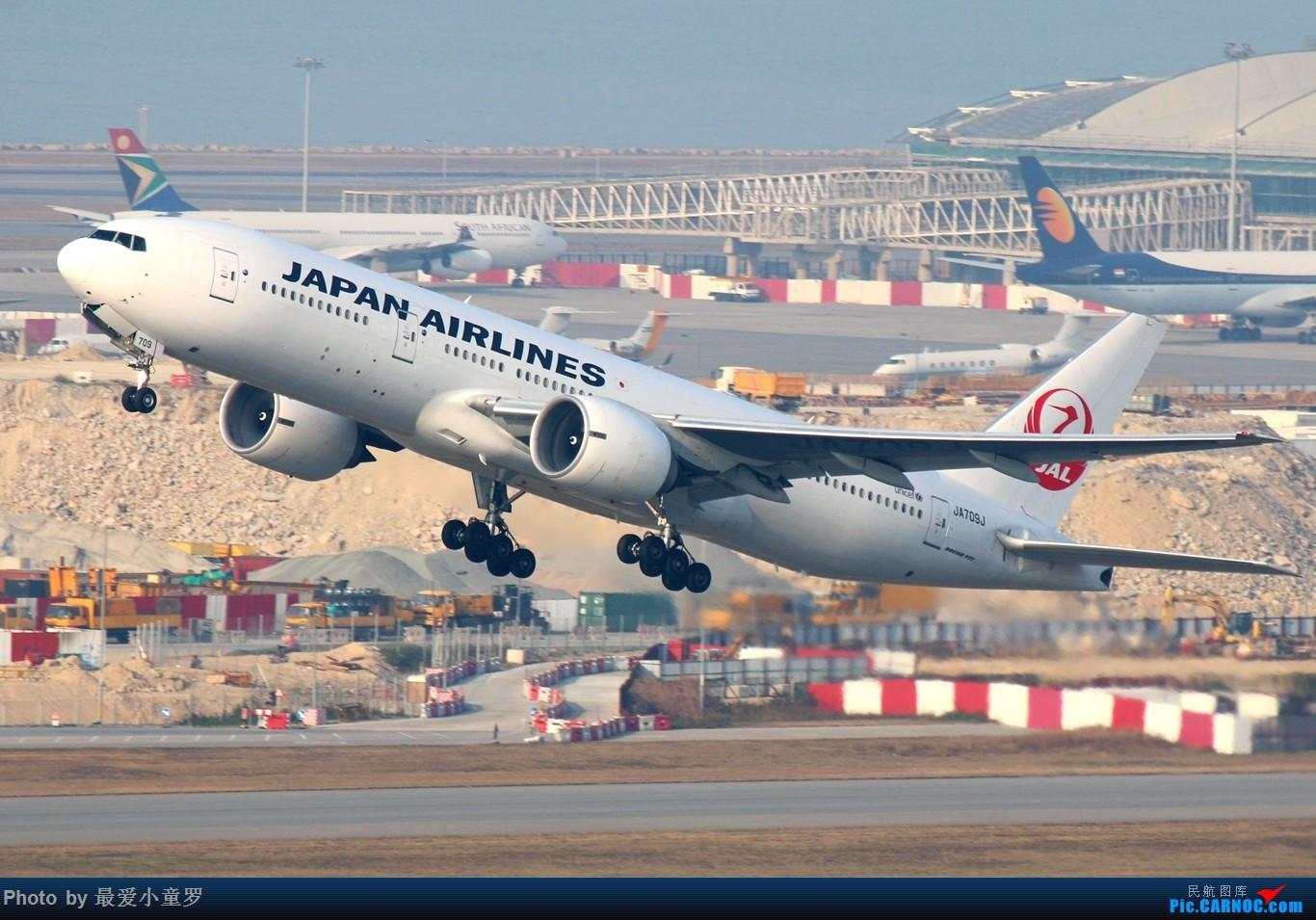 Re:[原创]2015年1月25日香港沙螺湾烂天拍机第二集——波音777 BOEING 777-200ER JA709J