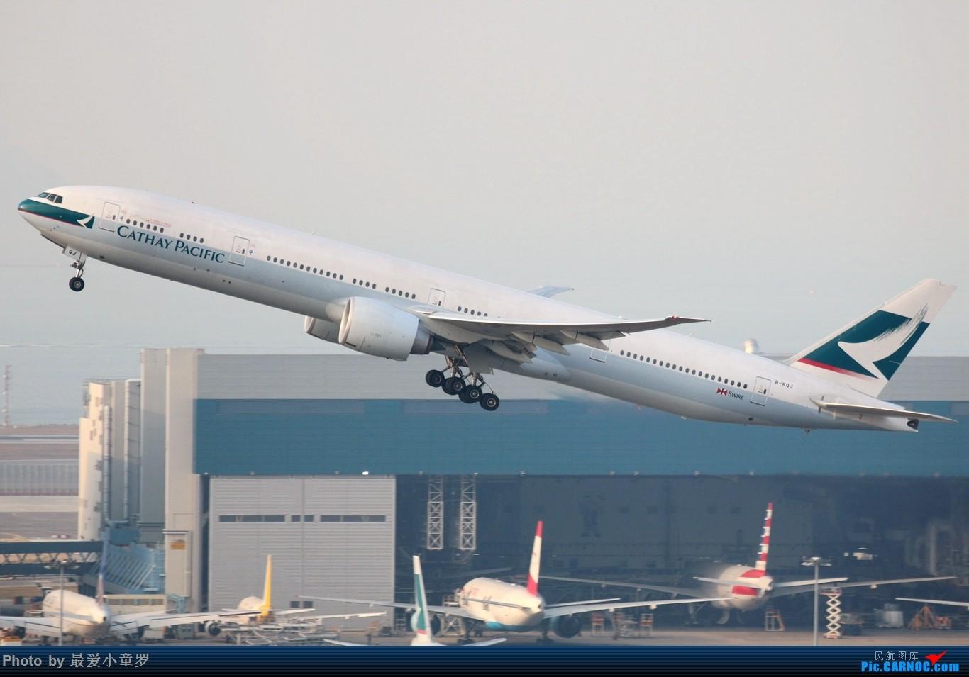Re:[原创]2015年1月25日香港沙螺湾烂天拍机第二集——波音777 BOEING 777-300ER B-KQJ 中国香港赤鱲角国际机场