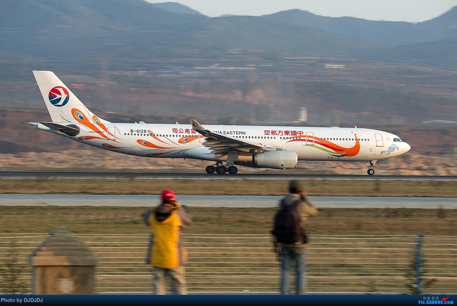 [原创]【BLDDQ】6128和冰总 AIRBUS A330-300 B-6128 中国昆明长水国际机场机场