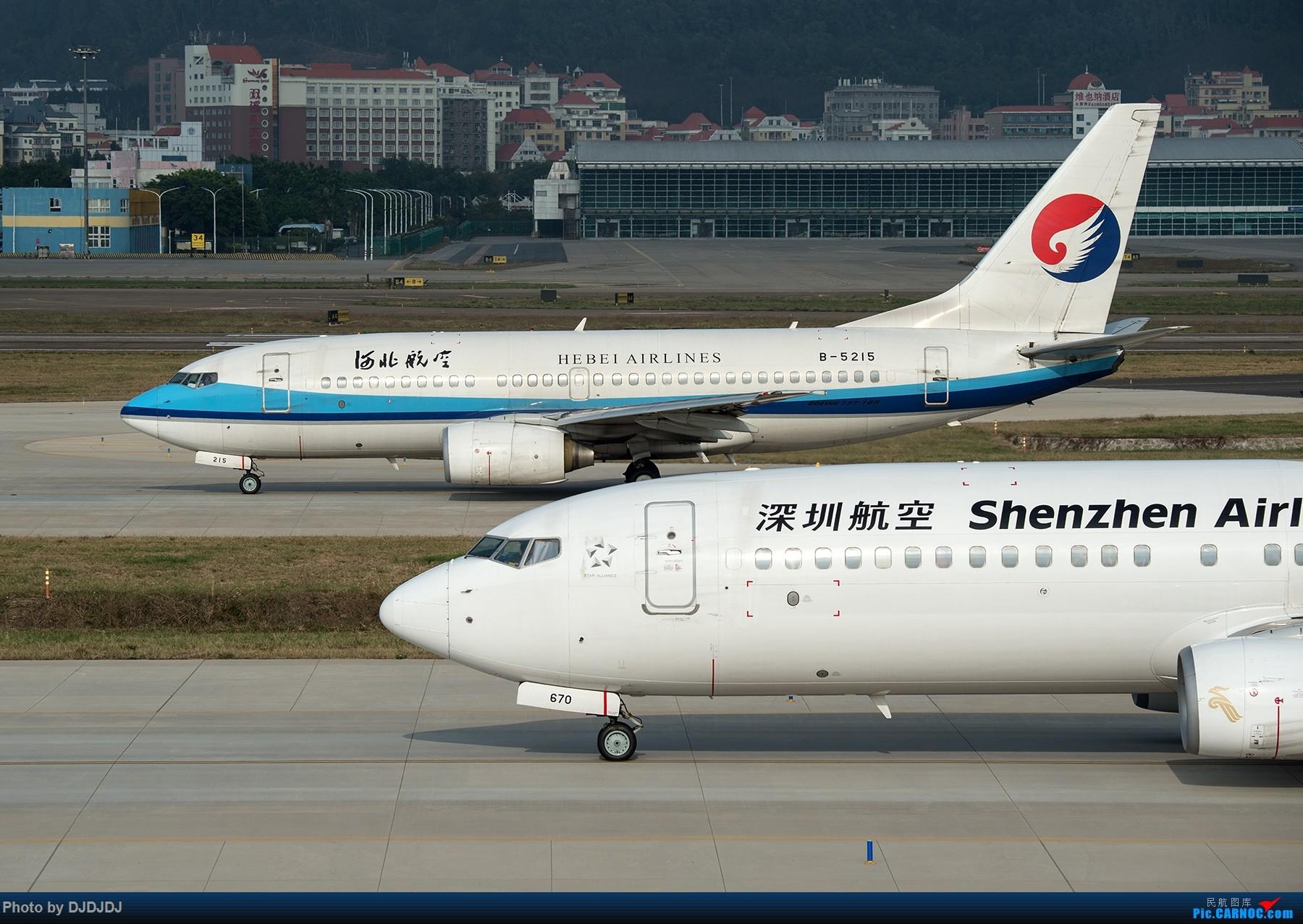 [原创]【BLDDQ】超车 BOEING 737-700 B-5215 中国深圳宝安国际机场
