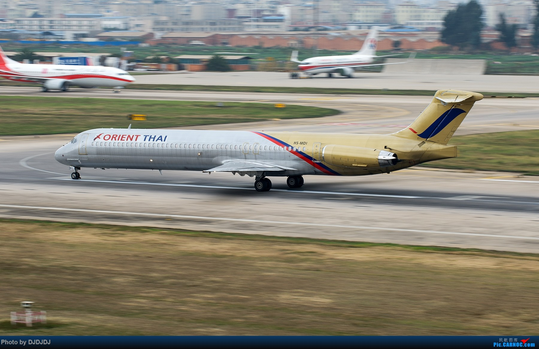 Re:[原创]【BLDDQ】珍藏的小动感 MD-90 HS-MDI 中国昆明长水国际机场机场