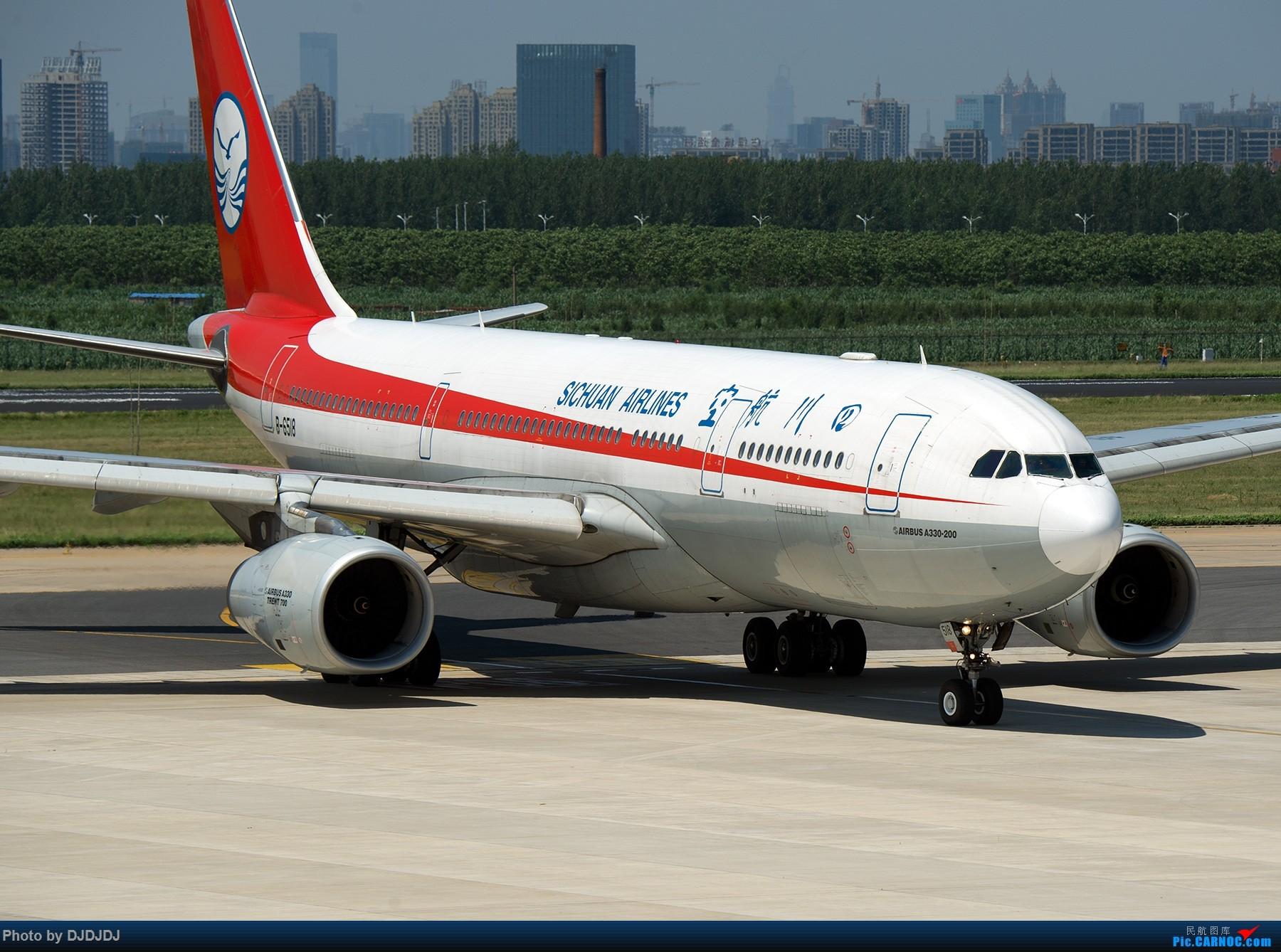 [原创]【BLDDQ】SHE AIRBUS A330-200 B-6518 中国沈阳桃仙国际机场