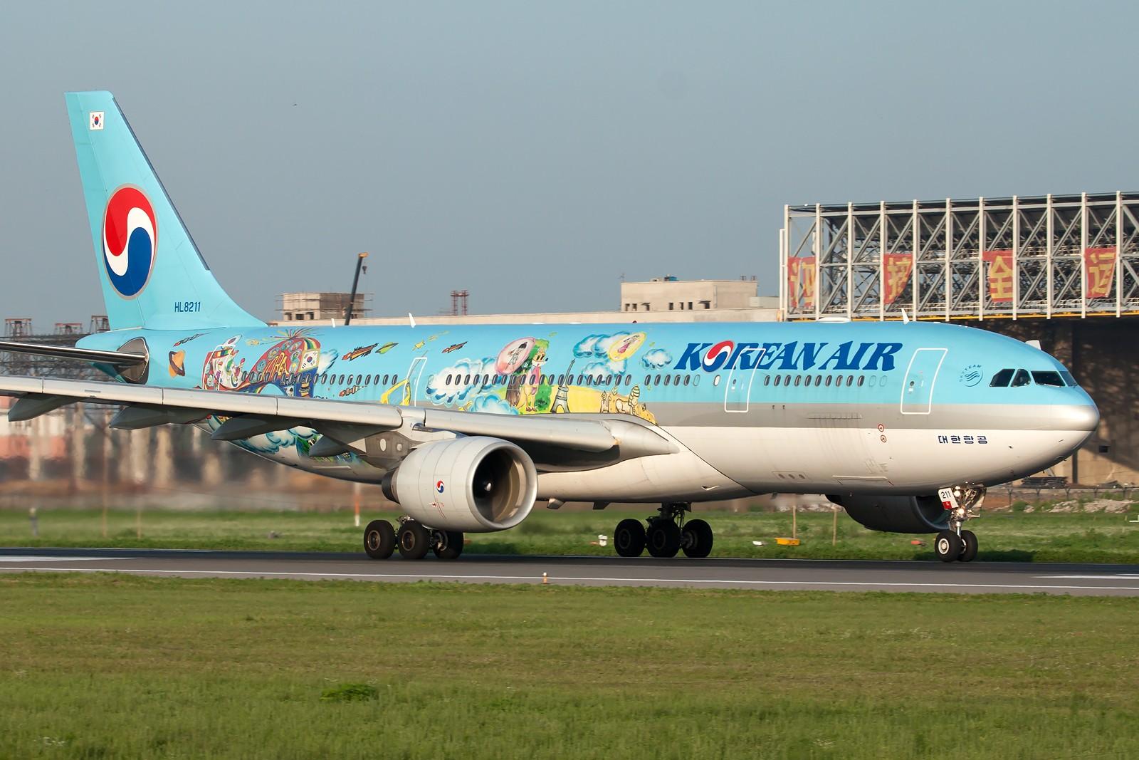 Re:[原创]SHE一组 AIRBUS A330-200 HL8211 中国沈阳桃仙国际机场