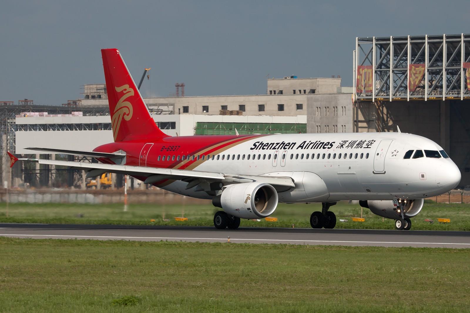 Re:[原创]SHE一组 AIRBUS A320-200 B-6937 中国沈阳桃仙国际机场