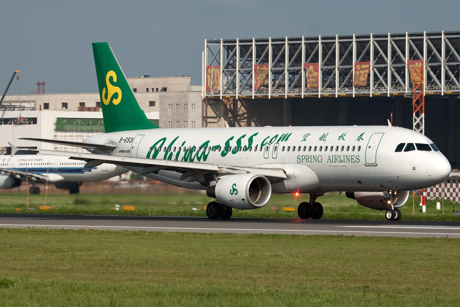 Re:[原创]SHE一组 AIRBUS A320-200 B-6931 中国沈阳桃仙国际机场