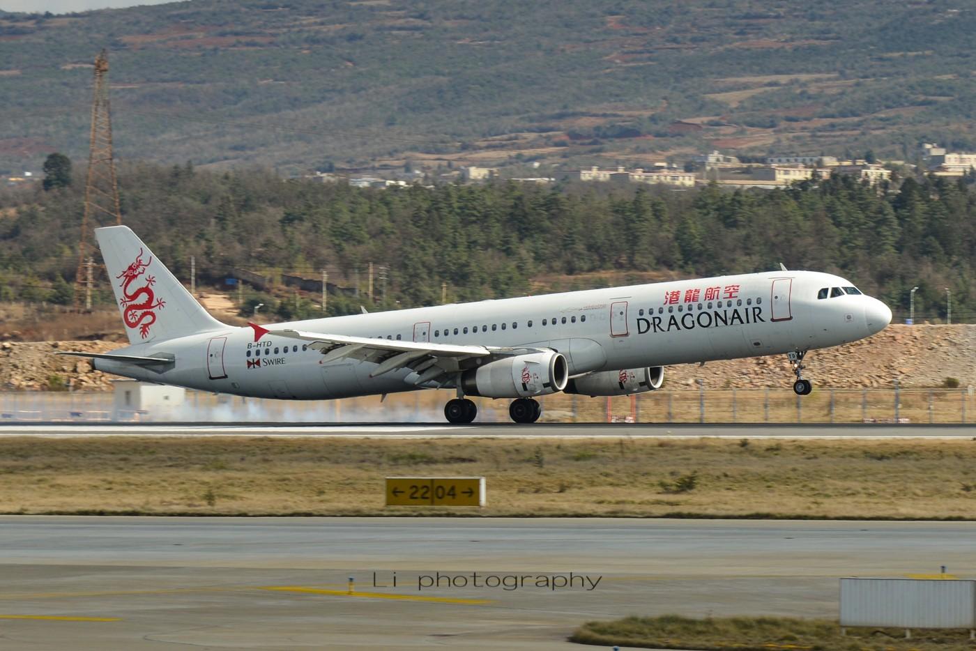 Re:发错 请删 AIRBUS A321-200 B-HTD 中国昆明长水国际机场机场