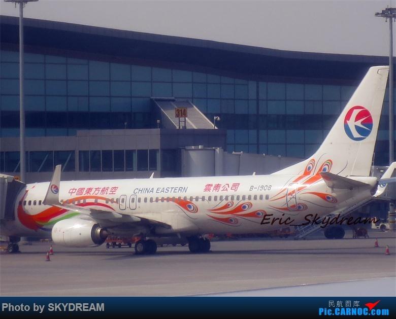 Re:[原创]<Eric's Journal> 01 飞雪 伙伴 御风长安之旅(新人首篇游记,请多指点) BOEING 737-800 B-1908 中国西安咸阳国际机场