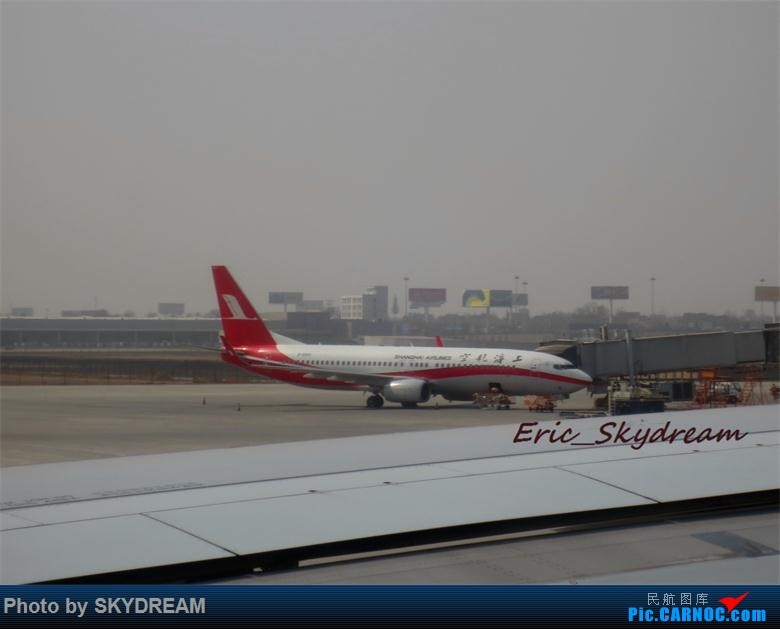 Re:[原创]<Eric's Journal> 01 飞雪 伙伴 御风长安之旅(新人首篇游记,请多指点) BOEING 737-800 B-5691 中国西安咸阳国际机场