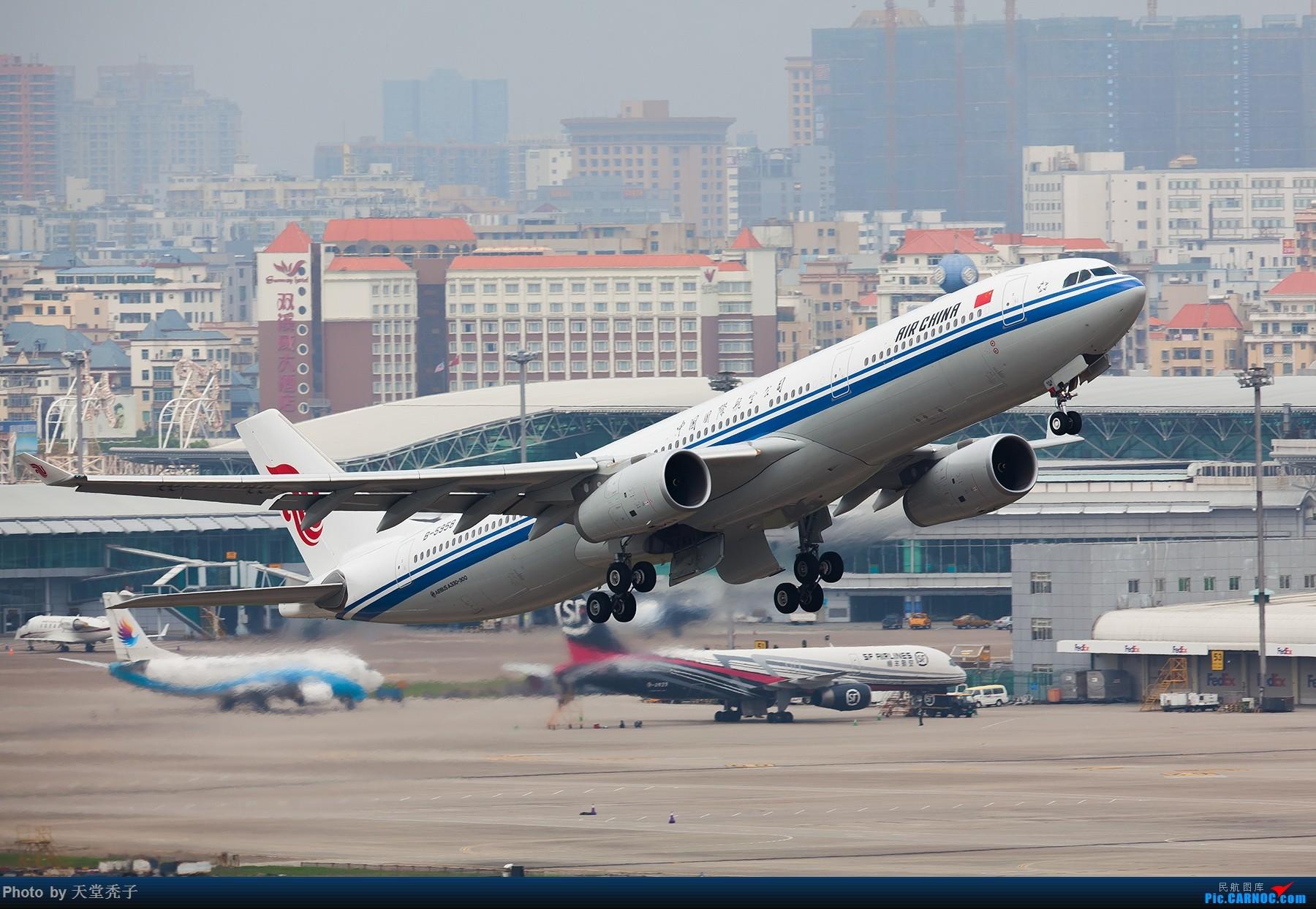 [原创]路过,拍过,怀念过 AIRBUS A330-300 B-5958 中国深圳宝安国际机场