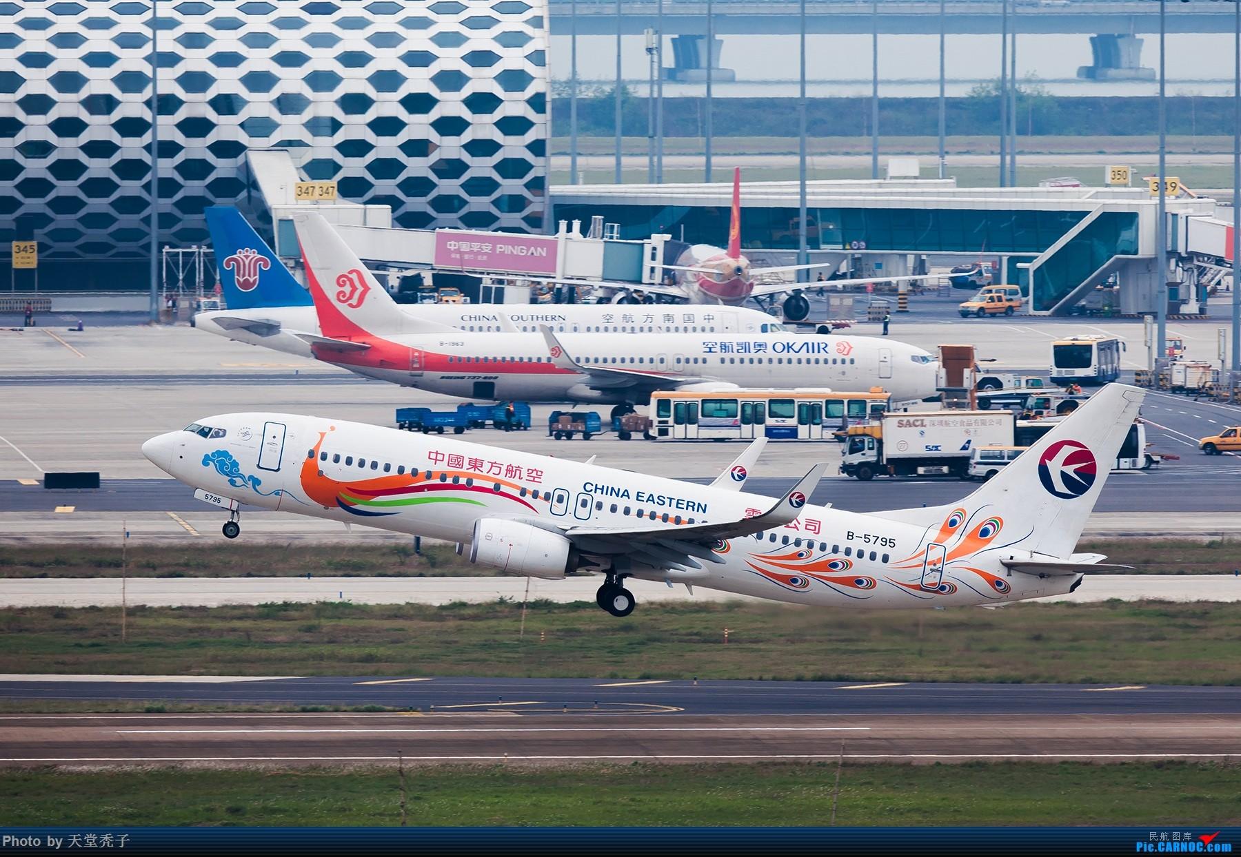 Re:[原创]路过,拍过,怀念过 BOEING 737-800 B-5795 中国深圳宝安国际机场