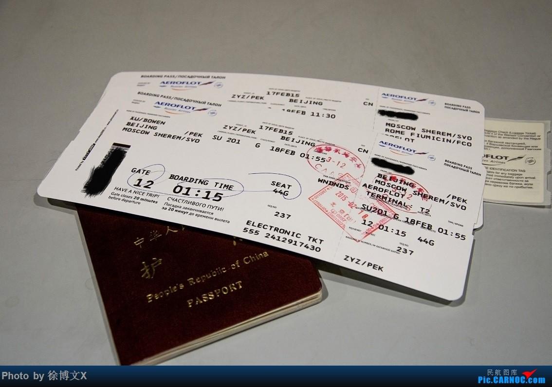 Re:[原创]PEK-SVO-FCO,CDG-SVO-PEK 全程俄罗斯航空,谢列梅捷沃转机的欧洲之行