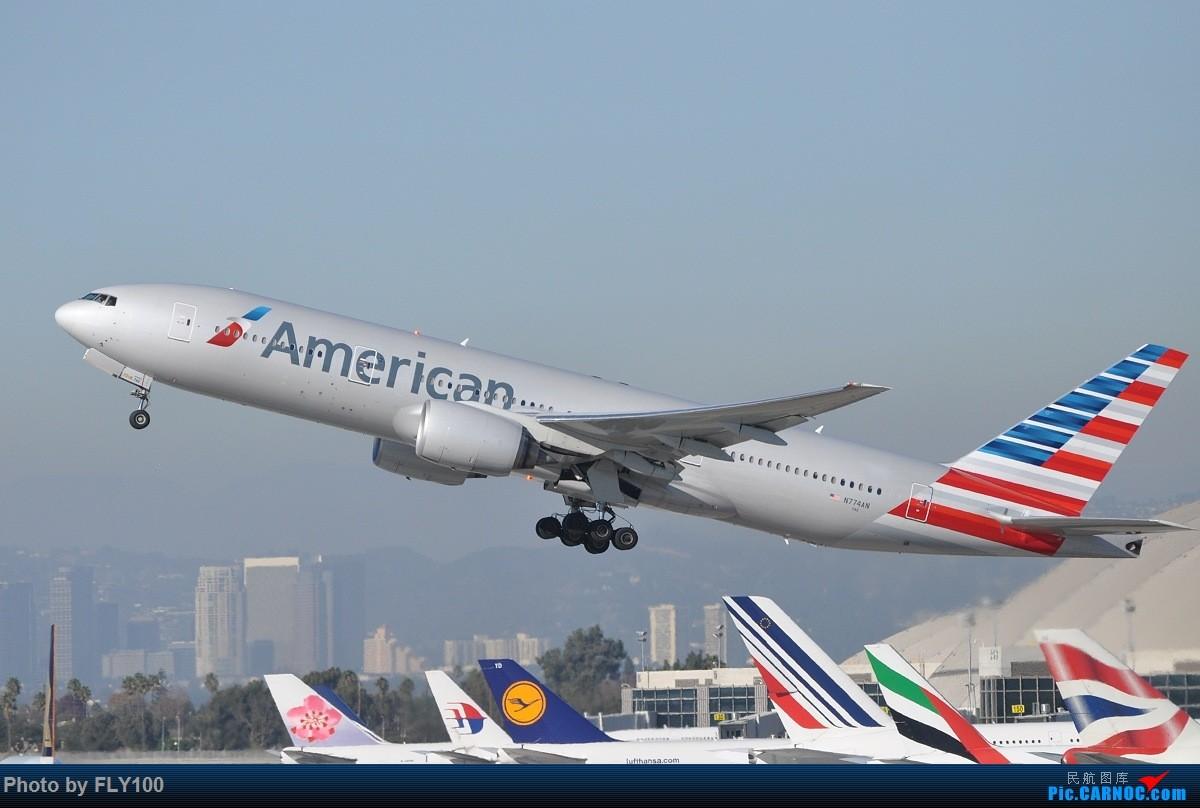 Re:[原创]【LAX】新货都发完了,来点存货吧 #Imperial Hill# BOEING 777-200 N774AN 美国洛杉矶机场
