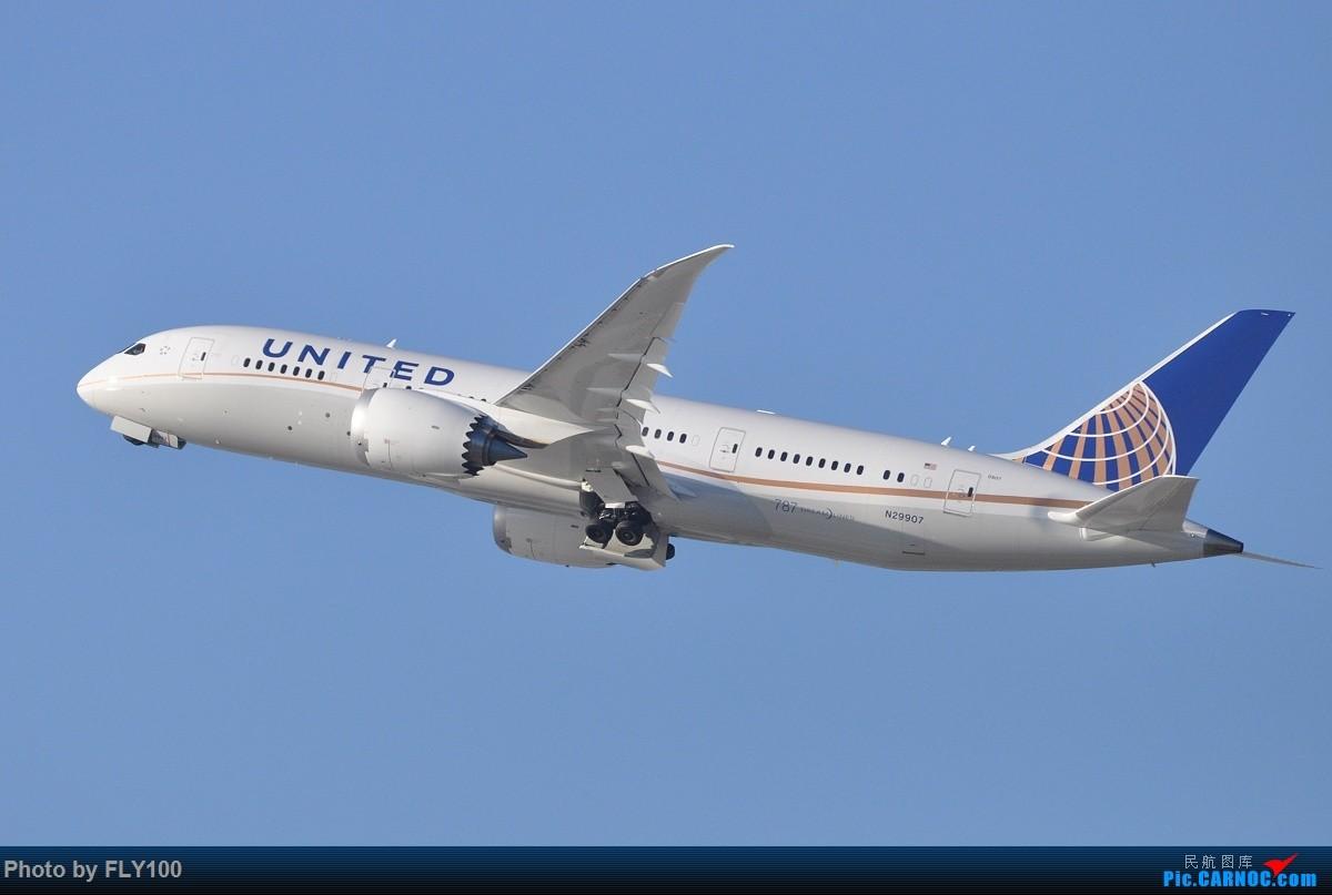 Re:[原创]【LAX】新货都发完了,来点存货吧 #Imperial Hill# BOEING 787-8 N29907 美国洛杉矶机场