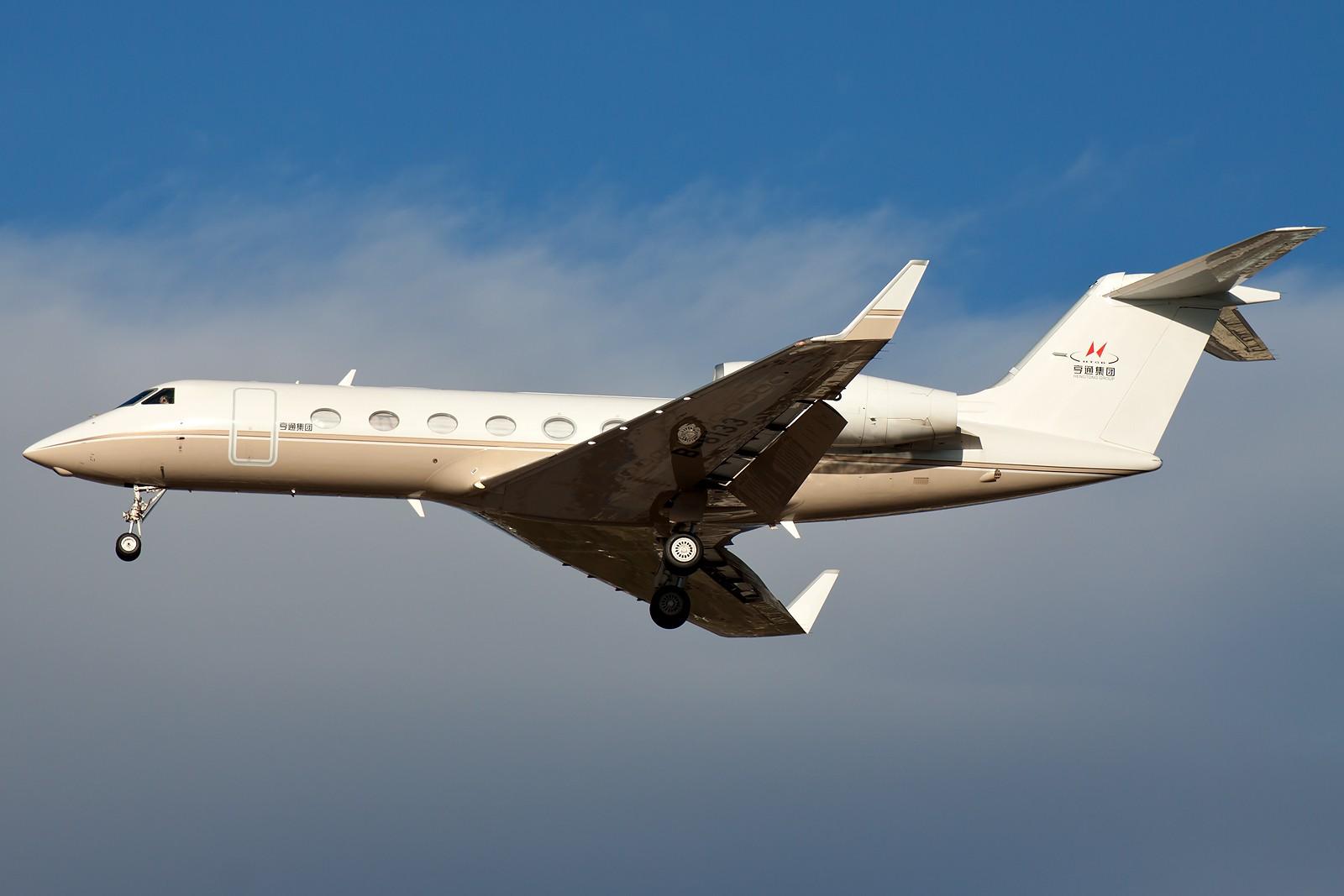 Re:[原创]求好天儿... [10pics] GULFSTREAM G450 B-8133 中国北京首都国际机场
