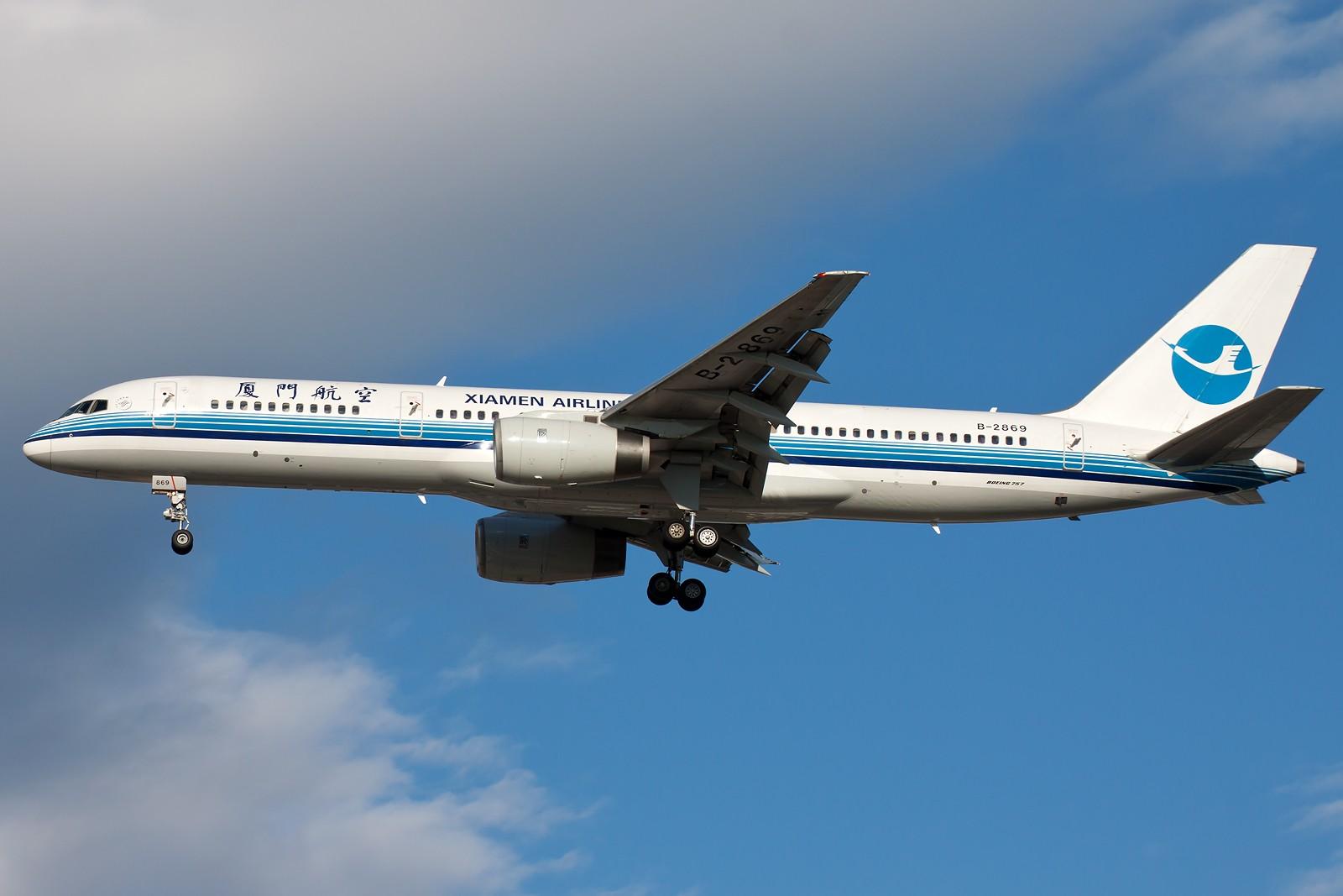 Re:[原创]求好天儿... [10pics] BOEING 757-200 B-2869 中国北京首都国际机场