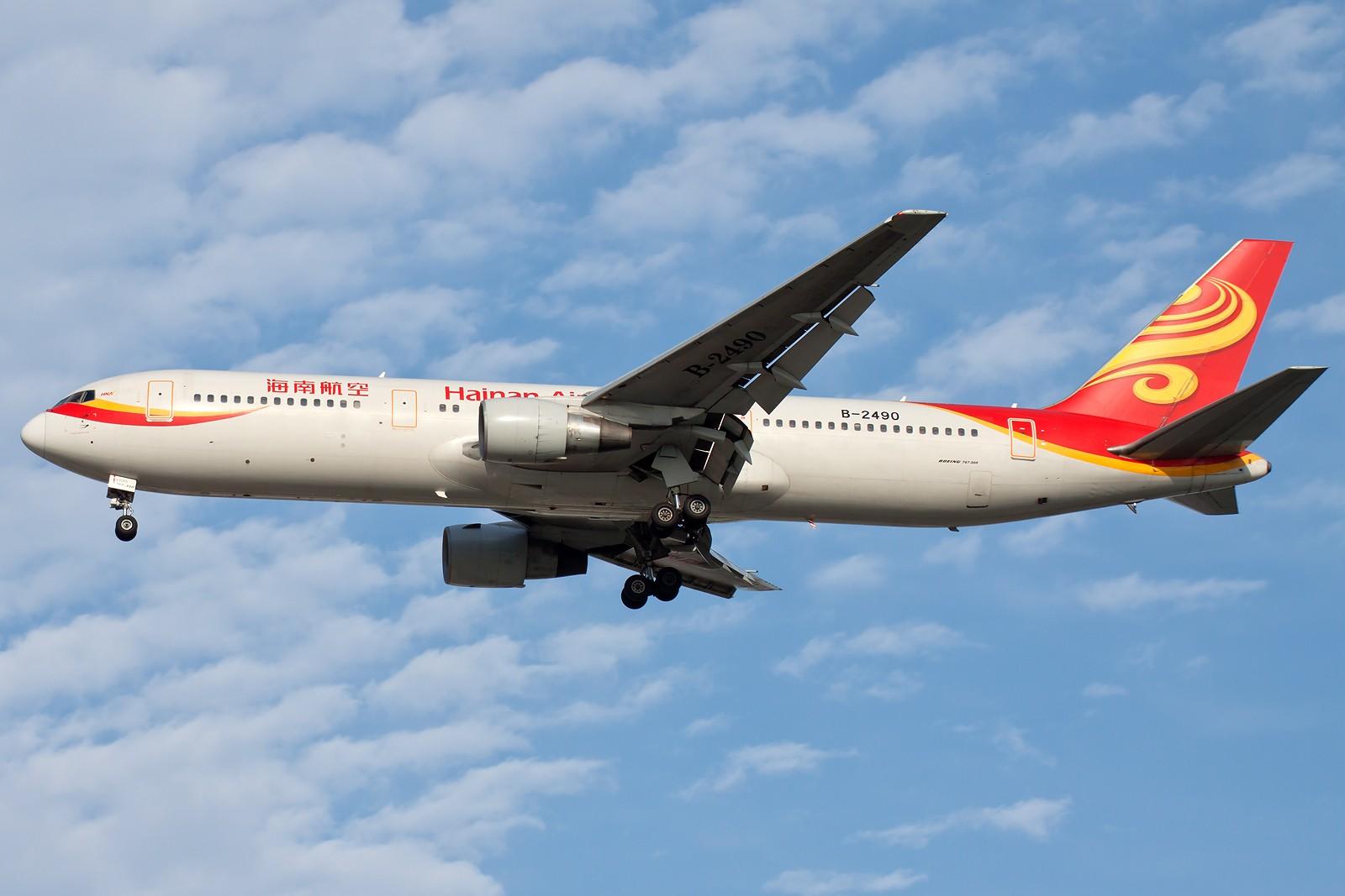 Re:[原创]求好天儿... [10pics] BOEING 767-300 B-2490 中国北京首都国际机场