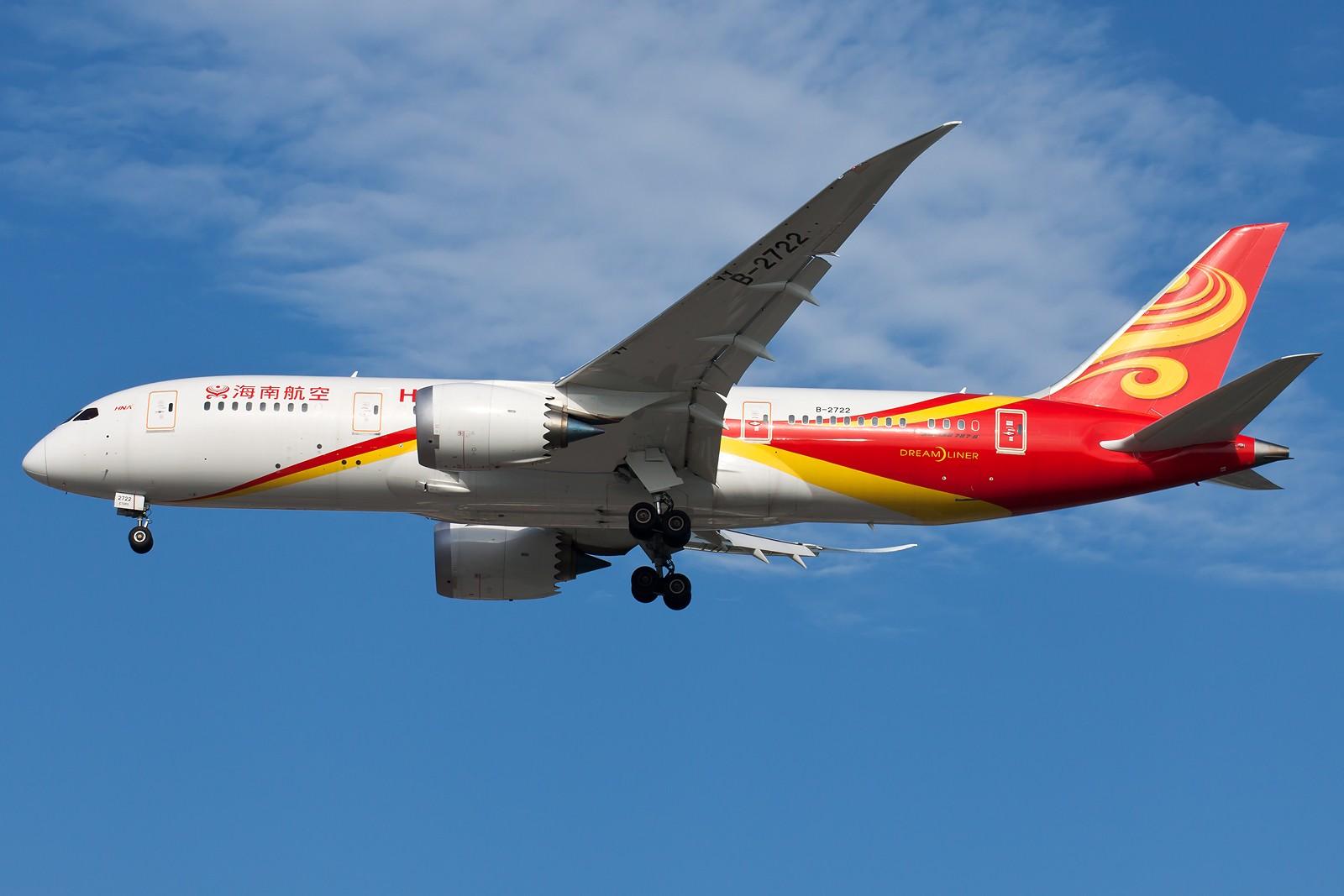 Re:[原创]再来10张 BOEING 787-8 B-2722 中国北京首都国际机场