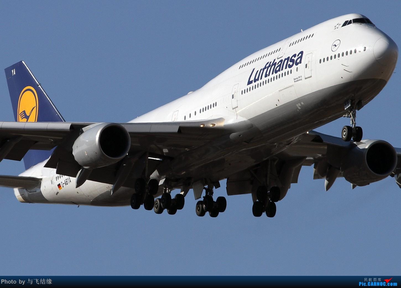 Re:德国汉莎航空公司Boeing 747-8I,D-ABYA几图。 BOEING 747-8I D-ABYA 中国北京首都国际机场