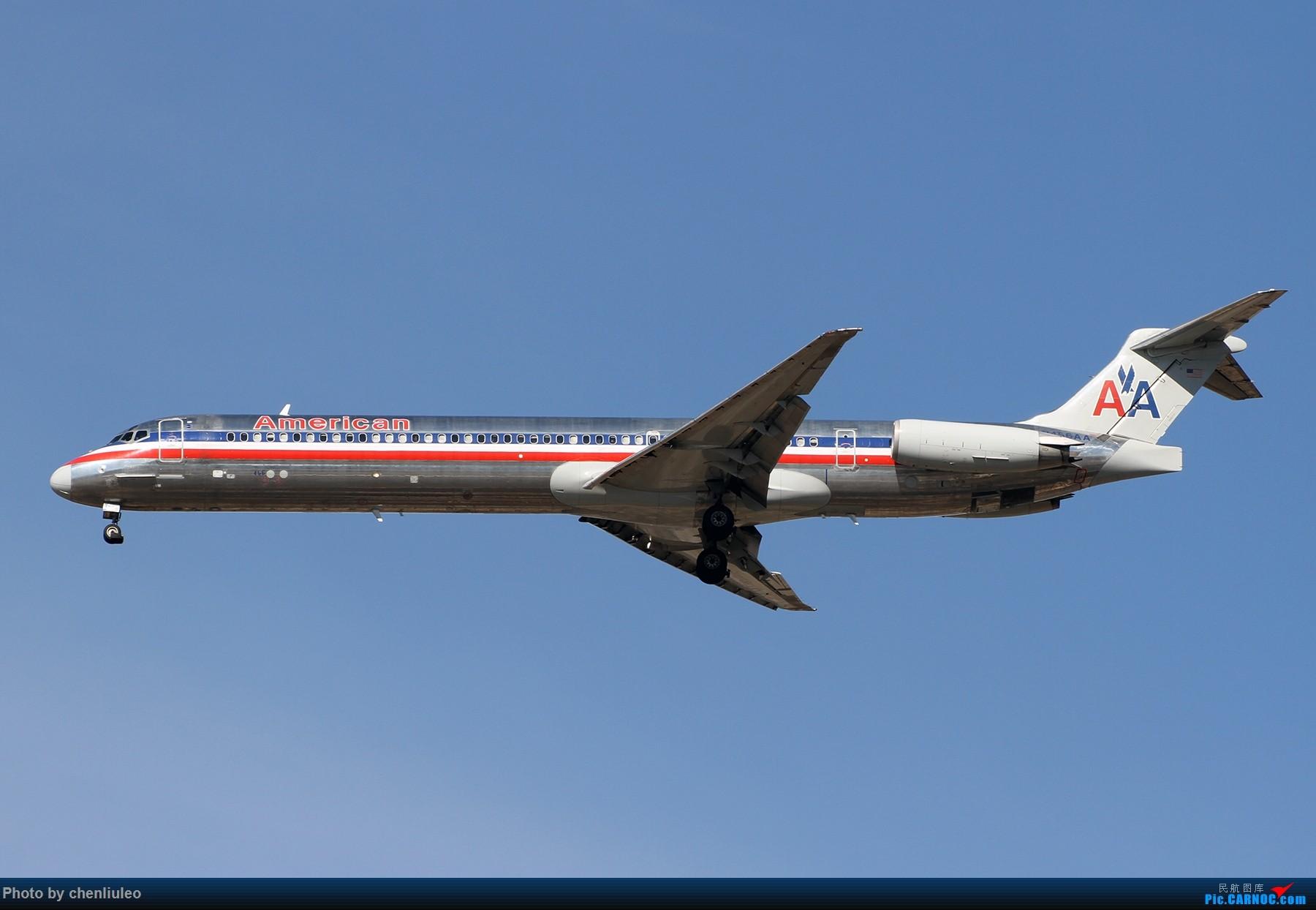 [原创]【杭州飞友会】KSTL拍机。AA WN DL F9 BBJ 1800大图 MD MD-80-82 N456AA 美国圣路易斯机场