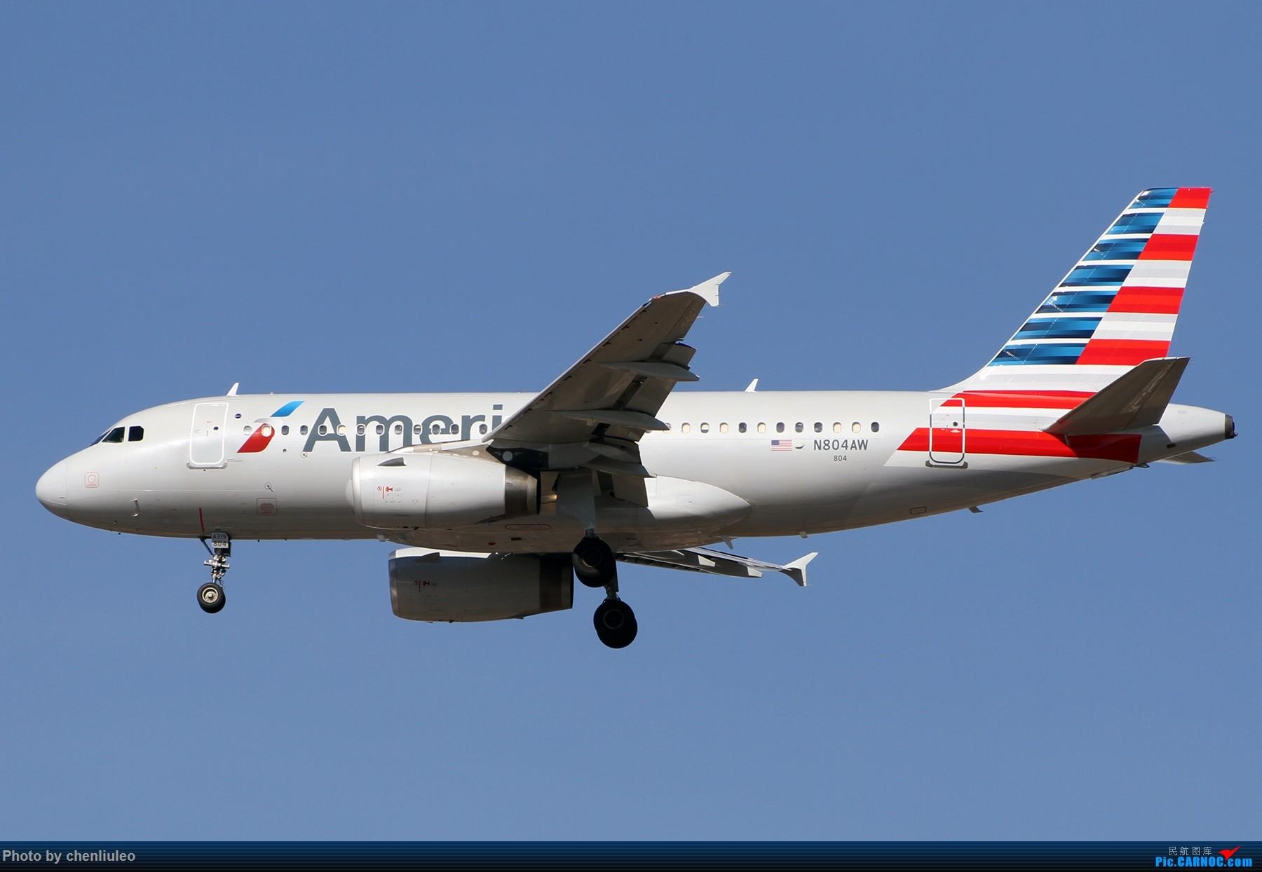 Re:[原创]【杭州飞友会】KSTL拍机。AA WN DL F9 BBJ 1800大图 AIRBUS A319-132 N804AW 美国圣路易斯机场