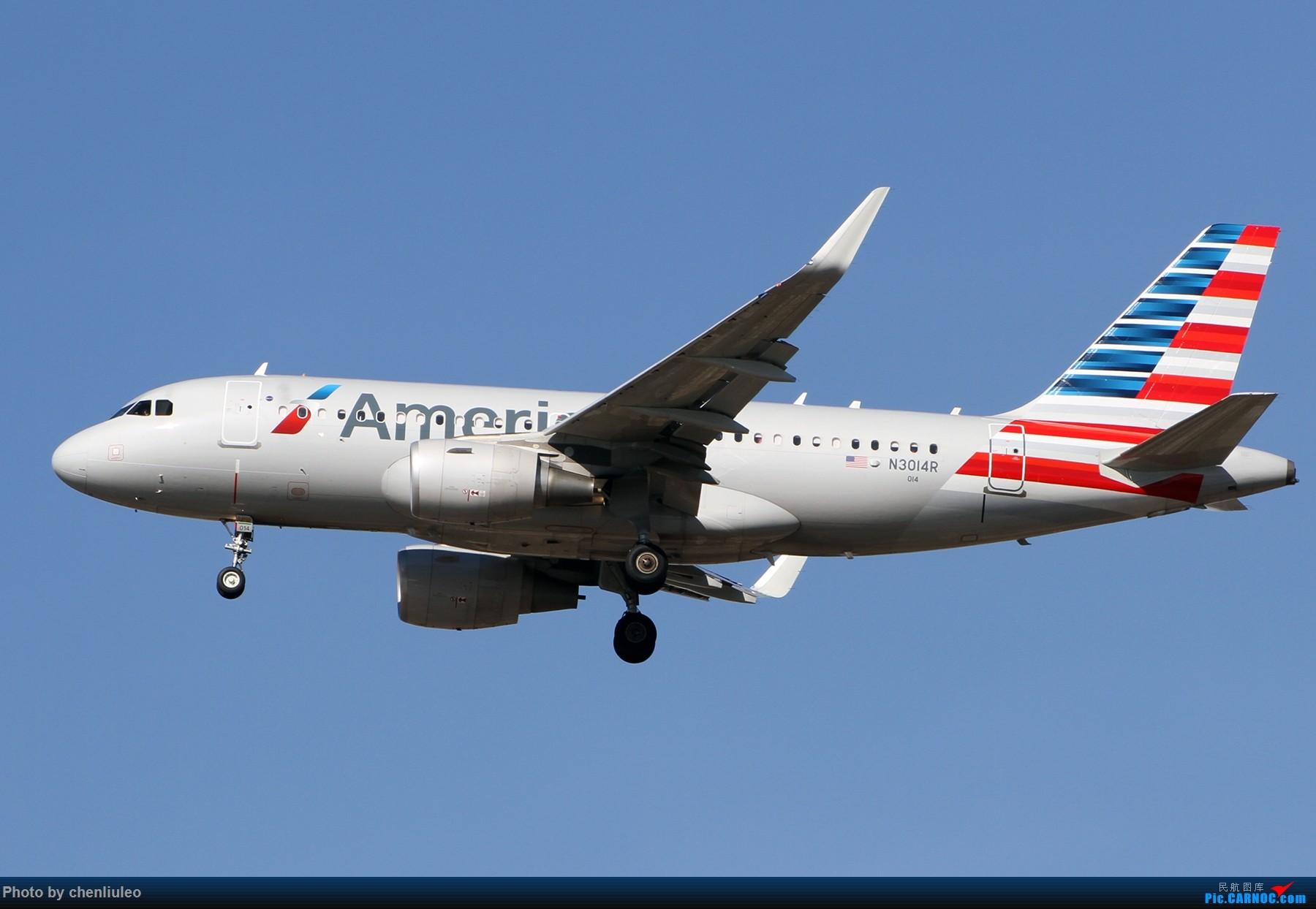 Re:[原创]【杭州飞友会】KSTL拍机。AA WN DL F9 BBJ 1800大图 AIRBUS A319-115WL N3014R 美国圣路易斯机场