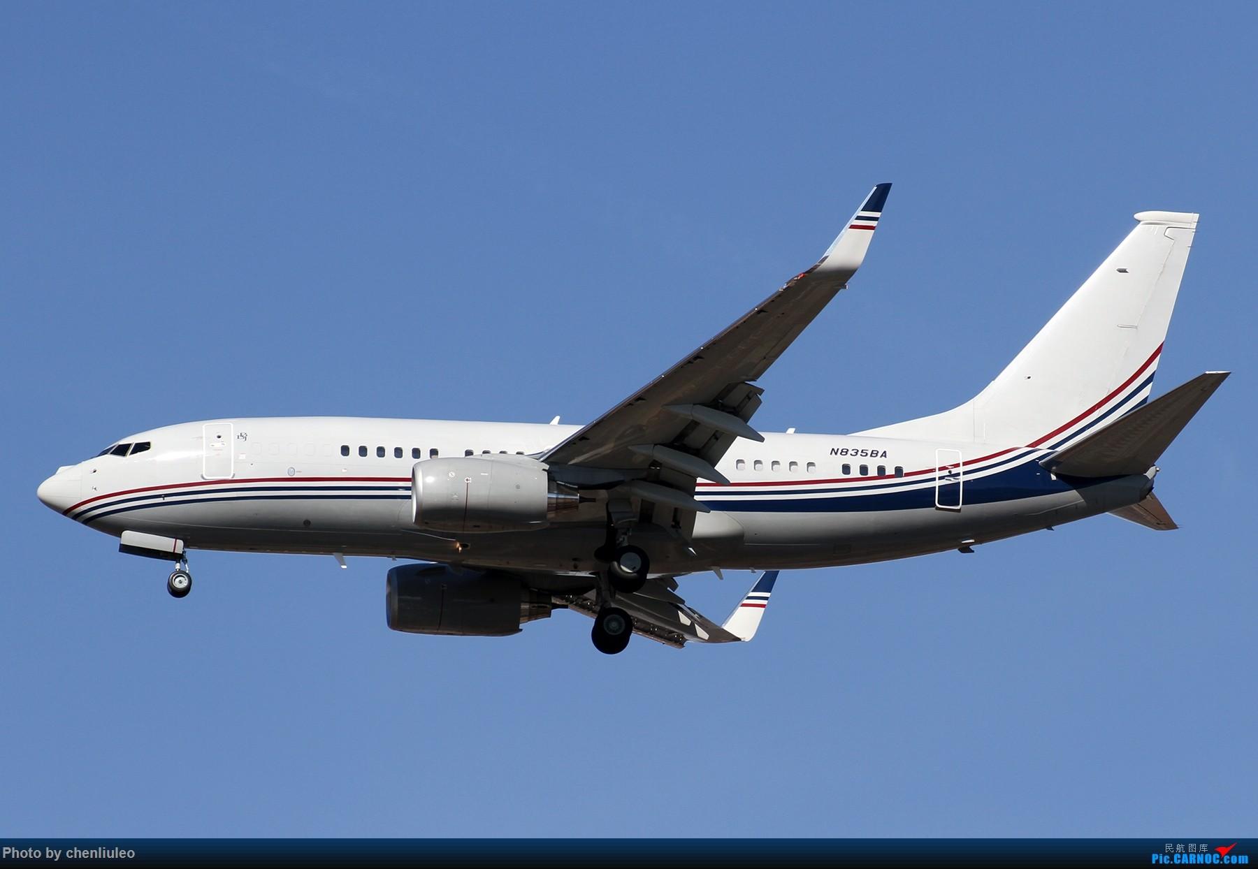 Re:[原创]【杭州飞友会】KSTL拍机。AA WN DL F9 BBJ 1800大图 BOEING 737-7BC N835BA 美国圣路易斯机场