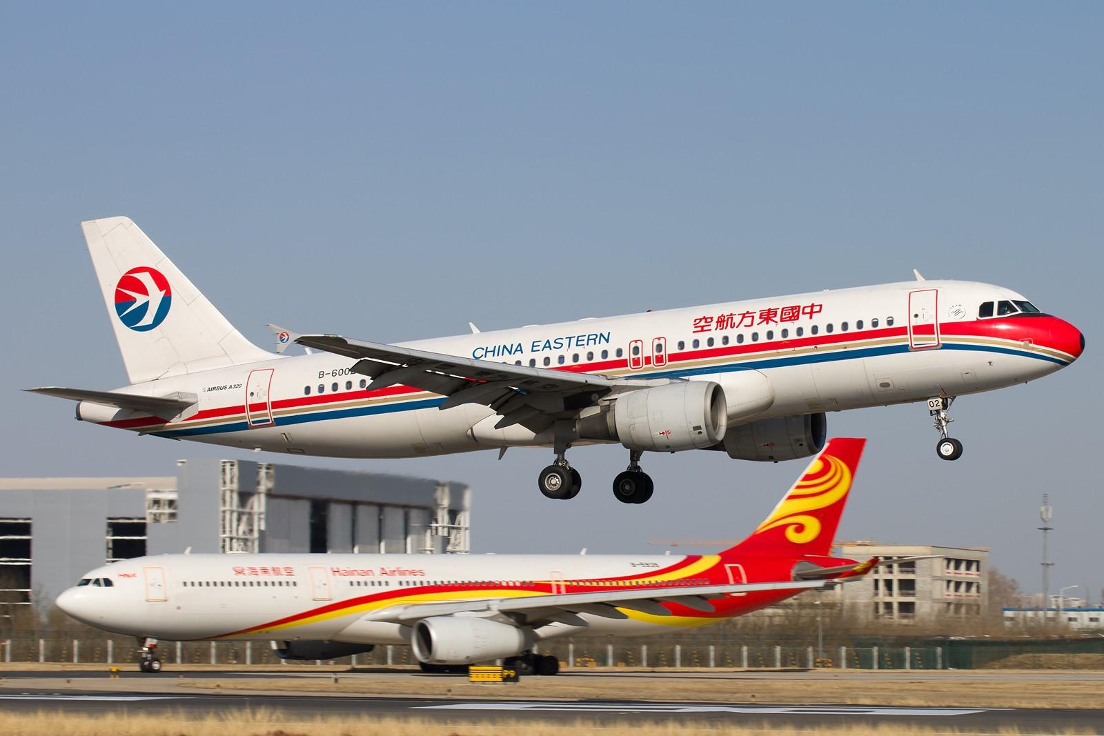 Re:常规货一组[10pics] AIRBUS A320-200 B-6002 中国北京首都国际机场