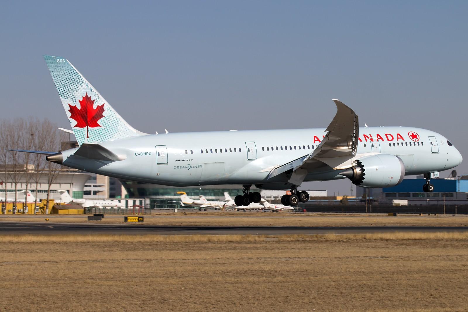 Re:[原创]常规货一组[10pics] BOEING 787-8 DREAMLINER C-GHPU 中国北京首都国际机场