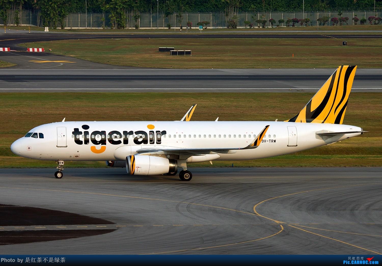 Re:[原创]【红茶拍机】新加坡樟宜拍机,duang都是国内少见货色! AIRBUS A320 9V-TRW 新加坡樟宜机场