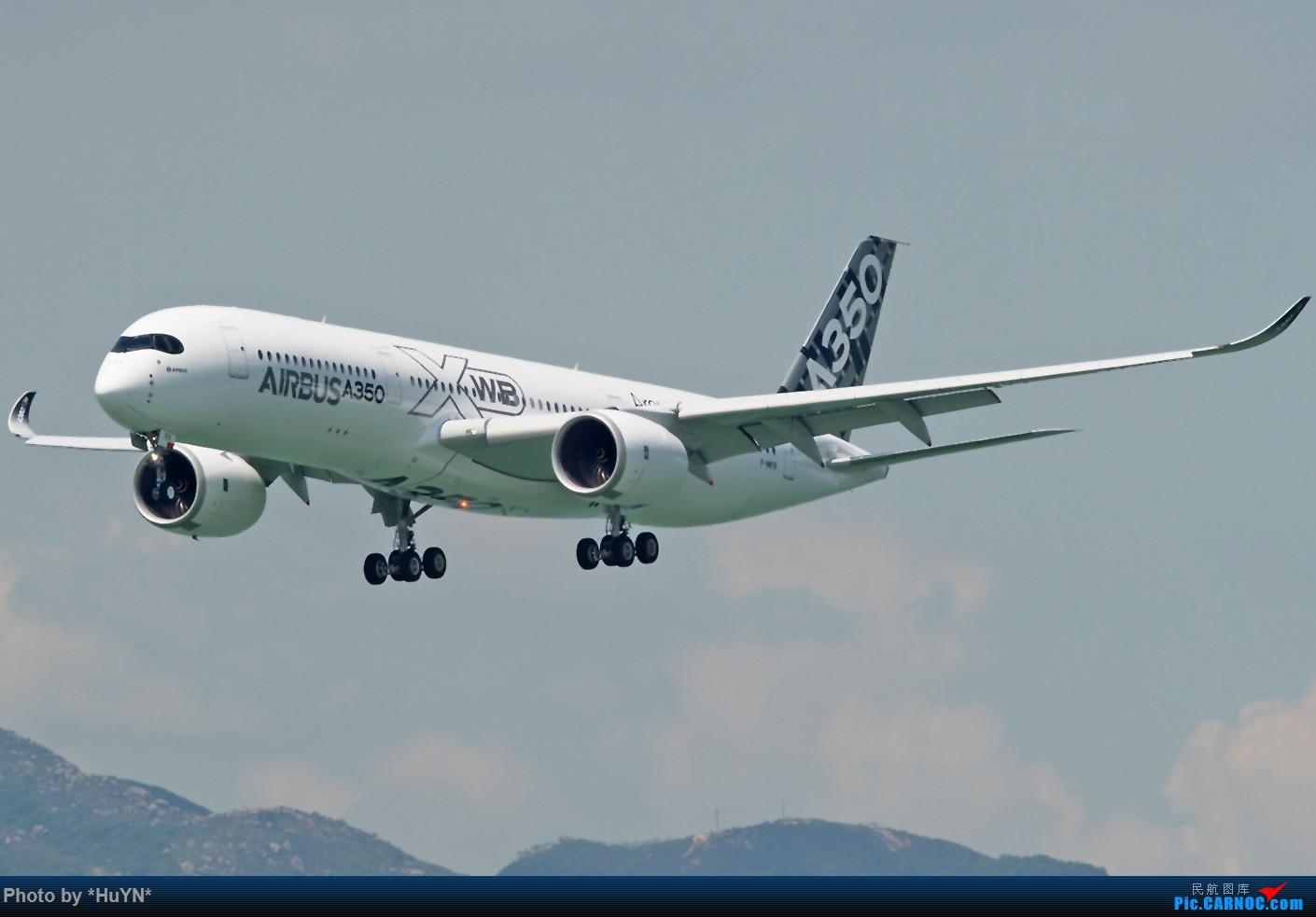 Re:[原创]存货一组(不看后悔) AIRBUS A350-900 F-WWYB 中国香港赤鱲角国际机场