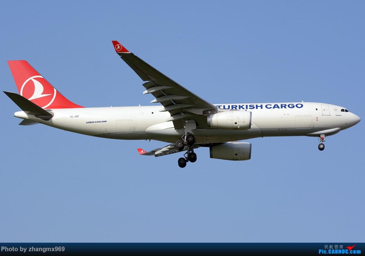[原创]虽然算不上通透,但至少天是蓝的~~ AIRBUS A330-200 TC-JDS 中国上海浦东国际机场