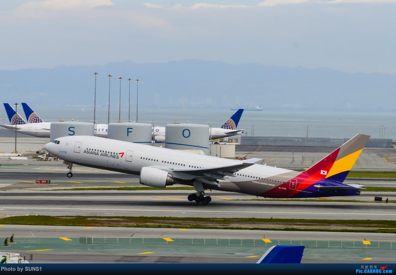 韩亚航空坠机视频_[原创]SFO的日常-之韩亚航空Boeing777-200ER HL7755 旧金山10L跑道起飞 ...