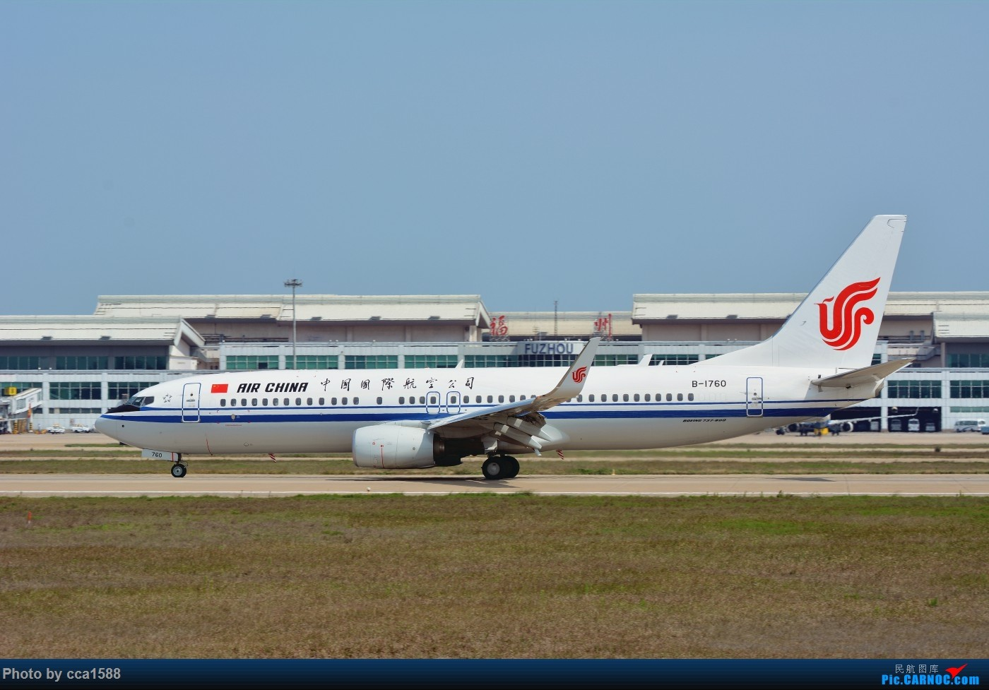 Re:[原创]【福州飞友会】6周年!要的就是那个气氛!~! BOEING 737-800 B-1760 中国福州长乐国际机场
