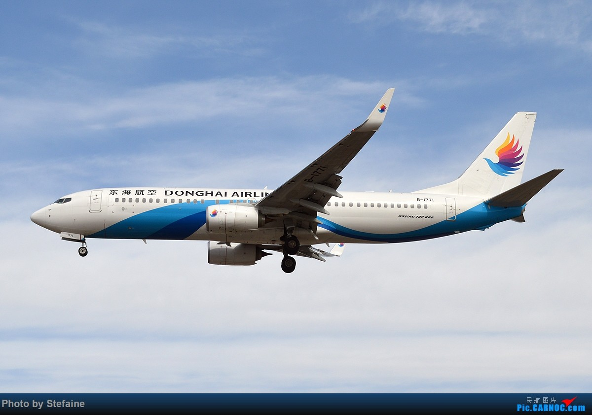 Re:[原创][DLC]大风吹来的蓝天 BOEING 737-800 B-1771 中国大连周水子国际机场