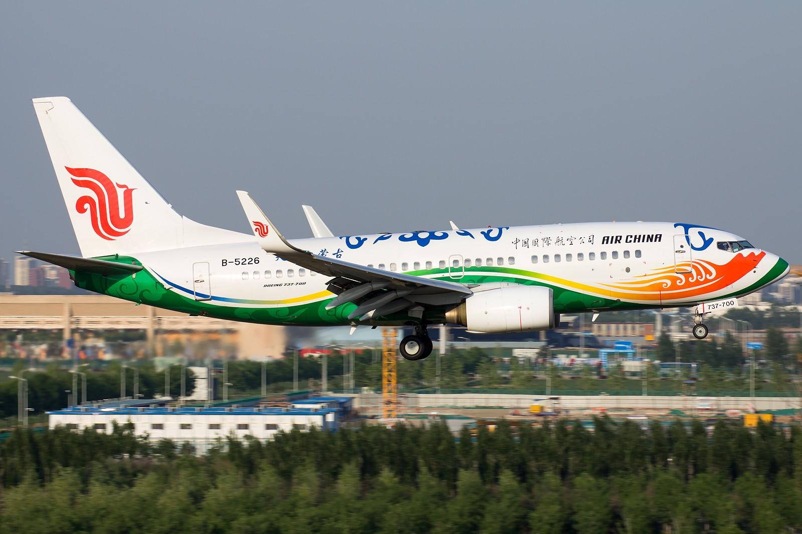 [原创][一图党] 天骄内蒙古 BOEING 737-700 B-5226 中国北京首都国际机场