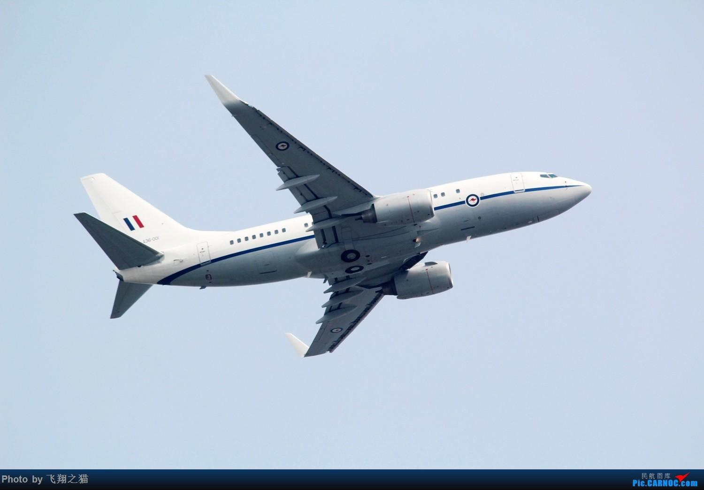 Re:[原创]重庆飞友欢送澳大利亚朋友 BOEING 737-700(BBJ) A36-001 重庆江北国际机场