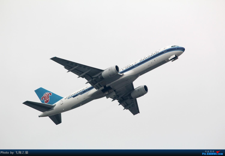 Re:[原创]2015CKG起飞系列图集锦 BOEING 757-200  重庆江北国际机场