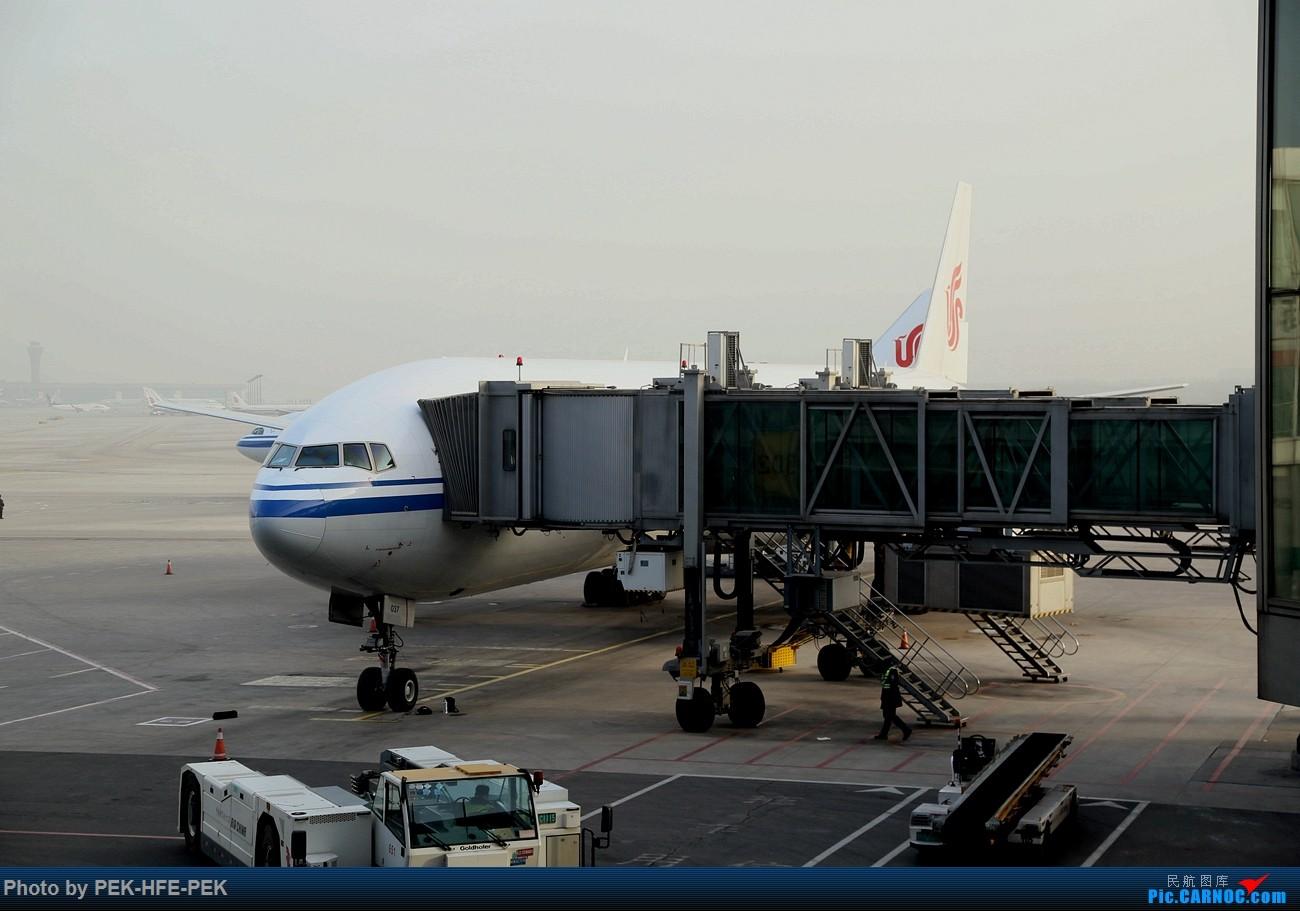 Re:[原创]【AutumnKwok】周末上海游,京沪线国航77W经济舱+东航最新77W(B-2020)商务舱+大陆第一家洲际酒店全纪录。多图 BOEING 777-300ER B-2037