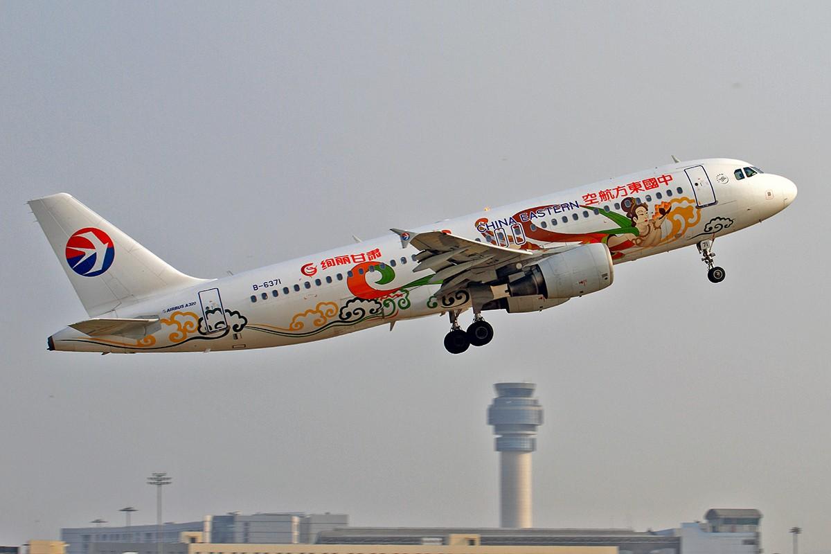 Re:[原创]还是上周拍的一些图 AIRBUS A320-200 B-6371 中国南京禄口国际机场
