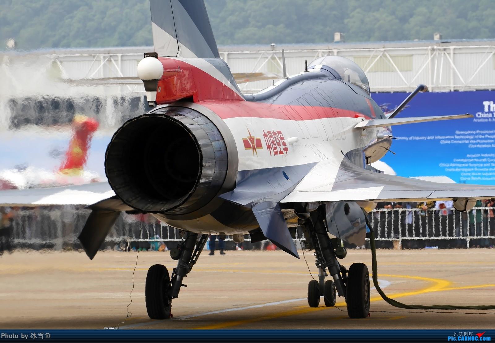 [原创][BLDDQ-昆明飞友会]站在歼-10的后面 歼-10 06 中国珠海金湾机场