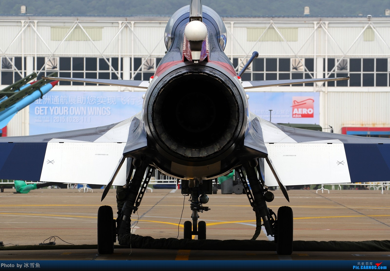 Re:[原创][BLDDQ-昆明飞友会]站在歼-10的后面 歼-10 12 中国珠海金湾机场